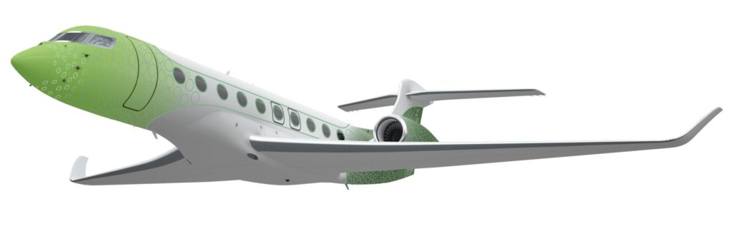 """""""Back to Future"""" concept for Gulfstream G700 by M&R Associates Design"""